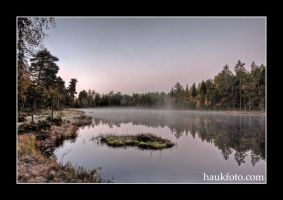 Fall waterscape... by OrisTheDog