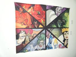 Disney Villains Blanket by TheSpyWhoLuvedMe