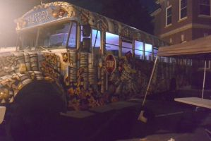The Muskrat Bus, Night Time by Miss-Tbones