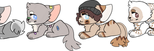 pup batch adopts [OPEN] by beabu