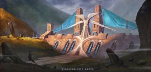 RPG Challenge-City Gates by JustMick