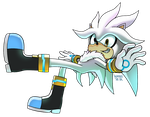 Group Collab - SILVER THE HEDGEHOG by WaniRamirez