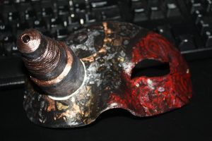 Steampunk mask by Bex013