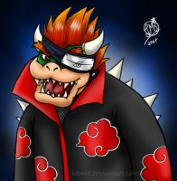 Akatsuki's..... Bowser?? by Lukael-Art