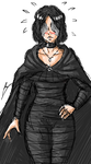 My maiden in black couldn't possibly be this cute by borockman