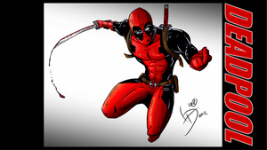Deadpool Background by LucasDuimstra