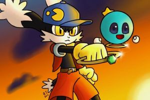 Klonoa and Huepow by BThomas64