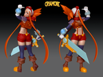 Esmyrelda Figure 3D Preview by Robaato