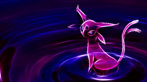 Espeon Wallpaper by Queen-Blanca