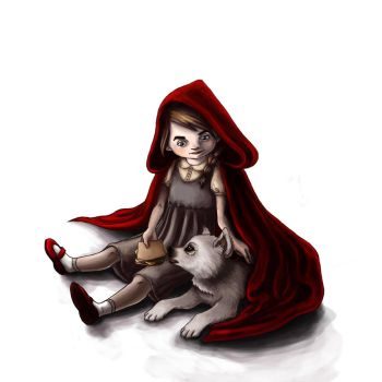 Little Red Hood by raspeire
