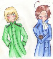 APH: Two idiots by AlienaxD