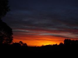 Sunset3 24th July 2010 by AussieSheilaSunsets