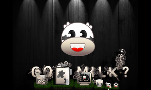 got milk icon set by maryduran