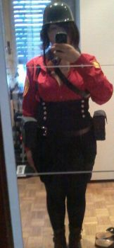 Team Fortress 2 - Fem!Soldier by Kighto