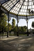 Gazebo corner by SilvieTepes