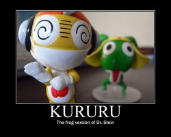 Kururu Motivational Poster by DeThundaMaster