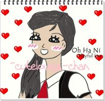 Playful Kiss_Oh Ha Ni paint by cutelouisa-chan