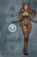 artifacts- witchblade by johntylerchristopher