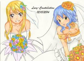 The brides of Fairy Tail by Lucy-Constellation