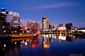Yarra River View by DanielleMiner