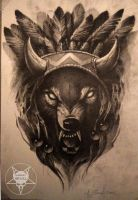wolf by AndreySkull