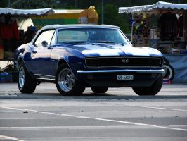 blue '67 Camaro by AmericanMuscle