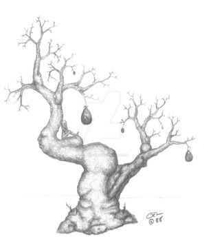pregnant tree by kscreations