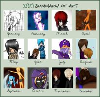 2010 summary of art meme :D by Astralstonekeeper