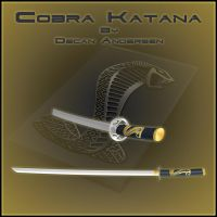 Cobra Katana by DecanAndersen