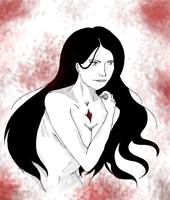 Unohana: Stripped Bare by You by RomaniaBlack