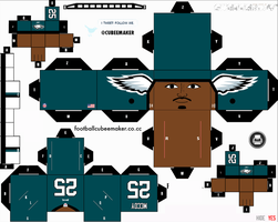 LeSean McCoy Eagles Cubee by etchings13