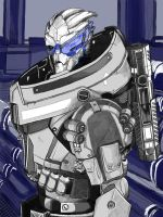 Garrus Vakarian (still WIP?) by Lordmarshal