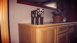 Cow on the dresser by wika7815