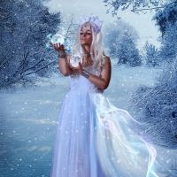Snow queen 2 by Polinamay