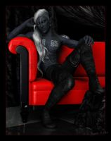 The Red Couch: Socair by Mavrosh