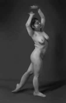 Figure Painting/Value Study by UntoldPromises