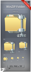 Icon WinZIP Folder by ncrow