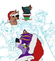 Gift giving WIP 2 by Blind-Kidd
