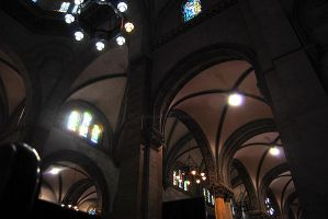 Manila Cathedral Interior by glamofficial