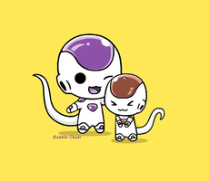 Frieza and Kuriza by Bubble-Chubi