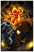 Fantastic Four by 1DB