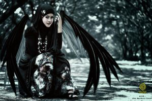 Black Gothic Fairy by s05crew