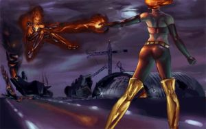 Dual Phoenix by Gygaxis