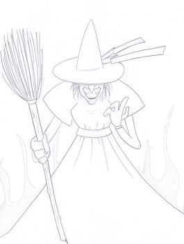 The Wicked Witch of the West 8.8.12 by Super-Josh