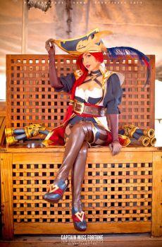 Captain Miss Fortune by RainbowMissy