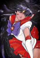Sailor Mars by AnnaKemushi