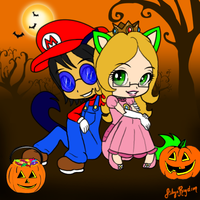 Happy Halloween :3 by AilwynRaydom