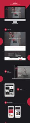 Personal Website Concept by Evey90