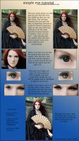 Eye tutorial by Kechake