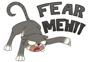FEAR MEH - Derpy Animals Commission by 11IceDragon11